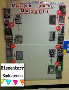 March Madness bulletin board