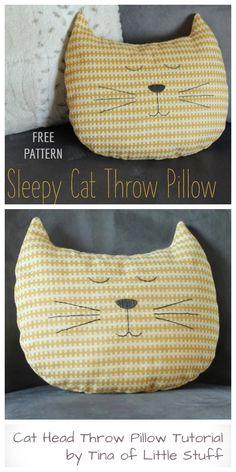 Sewing Pillow Patterns, Sewing Pillows, Crochet Blanket Patterns, Animal Sewing Patterns, Sewing Stuffed Animals, Stuffed Animal Patterns, Kids Pillows, Animal Pillows, Diy Throw Pillows