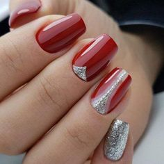 9 Red Hot Nails Just In Time For Valentine's Day - Hashtag Nail Art