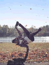 Spinning photography outdoors cool animated dance gif