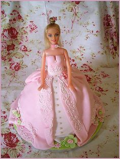 Barbie cake, via Flickr.