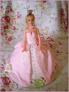 Barbie cake, via Flickr.