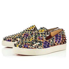 0f5f580390fd Christian Louboutin United States Official Online Boutique - Roller-Boat  Flat Multi Python Palette available online. Discover more Men Shoes by  Christian ...