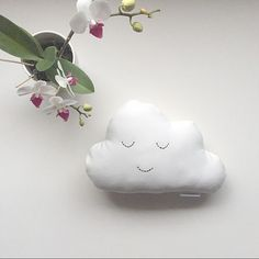 Image of Mini Cloud Cushion Cloud Cushion, Nursing Pads, Swaddle Wrap, Baby Essentials, Baby Accessories, Baby Shoes, Wraps, Cushions, Clouds