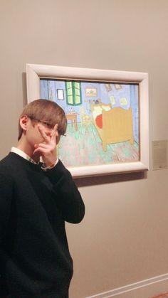 Art is visiting art
