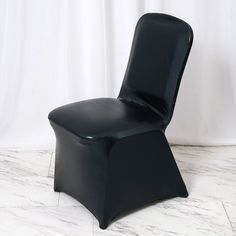 Metallic Black Glittering Shiny Premium Spandex Banquet Chair Cover Folding Chair Covers, Banquet Chair Covers, Chair Sashes, Chair Backs, Fit And Fix, Spandex Chair Covers, Party Venues, Wedding Chairs, Different Light