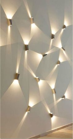 Delta Light - TOPIX - Direct/Indirect Sconces for Light Sculpture Ceiling Design, Wall Design, House Design, Green Interior Design, Interior Design Living Room, Design Interiors, Lighting Concepts, Lighting Design, Interior Lighting