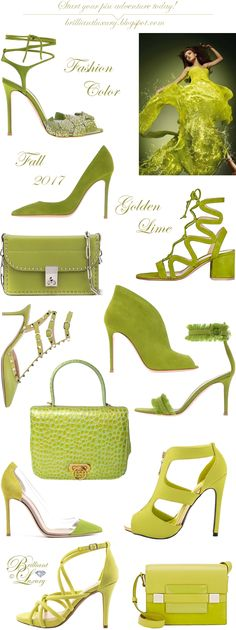 Brilliant Luxury ♦ Fashion Color Fall 2017 ~ golden lime