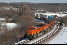 RailPictures.Net Photo: BNSF 6601 BNSF Railway GE ES44C4 at Lemont, Illinois by Marshall W. Beecher