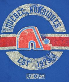 Quebec Nordiques this is vintage. I mean. It's hot.