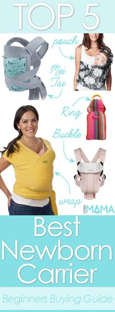 Looking for the best newborn carrier? Check out our reviews and huge buying guide to find the best baby carrier for your family. Stork Mama