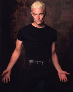 Spike  from Buffy The Vampire Slayer. I <3 him with my whole heart :)