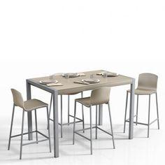 table en verre ronde hauteur 90 cm ou 110 cm - discus | discus and