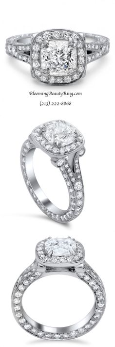cheap wedding bands for him and her Antique Style Engagement Rings, Popular Engagement Rings, Cushion Cut Engagement Ring, Beautiful Engagement Rings, Halo Engagement Rings, Designer Engagement Rings, Engagement Ring Settings, Beautiful Rings, Halo Rings