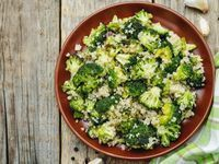 Quinoa au brocolis #quinoa