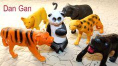 Juguetes de los animales salvajes de vídeo para los niños