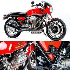 Moto Guzzi Le Mans Mk II – Kevin Rudham. (Via Pipeburn). #motoguzzi #motorcycle…