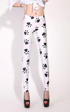 Dog's Paw Print Leggings... Wow... Just.... Wow...