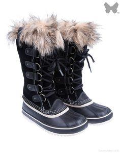Sorel Ladies' Joan of Arctic Boot – Black   Country Attire
