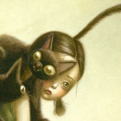 Benjamin Lacombe. http://thierrylenain.blogspot.fr/search/label/_Julie%20Capable