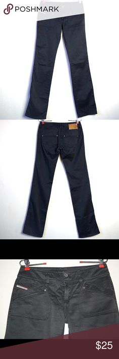 Diesel Black Pants Pants are in good condition. No flaws  Inseam: 32 1/2 inches Waist: 28 inches Diesel Jeans