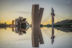 Light Bridge by ser4apari. Light Bridge, also called Salve Bridge, is located in Bilbao harbour, Spain. THename comes from sailors because when they came back to home in the boats, the first thing that they saw was Begoña virgin and sailors sang a praying.