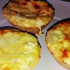 Joana Pães: Tortelettes aos 4 queijos