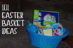 101 Easter Basket Ideas