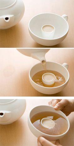 Rum tea...ooh