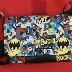 Batgirl Messenger Bag! Handmade in Australia!