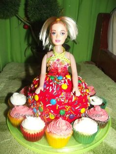 Coolest Homemade Customized Doll Cake... This website is the Pinterest of birthday cake ideas
