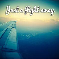 Just a flight away. #aviationglamourposts