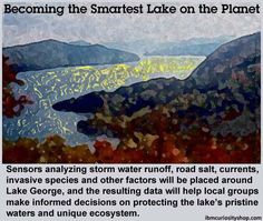 Becoming the Smartest Lake on the Planet