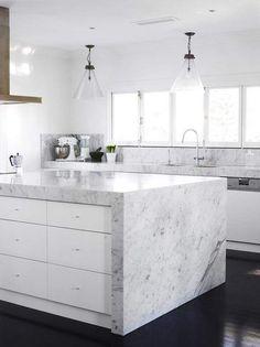 cocina-blanca-muebles-granito
