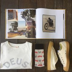 The authenticity and enjoyment of the machine.  #deusexmachina #pinarshop #novesta #sockm #menswear