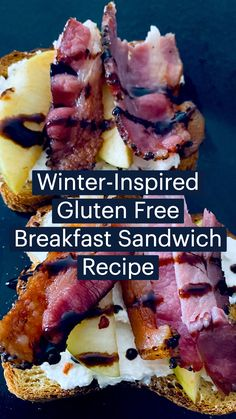 Gluten Free Breakfasts, Gluten Free Recipes, Low Carb Recipes, Diet Recipes, Recipies, Healthy Lunches, Healthy Eating Recipes, Breakfast Sandwich Recipes, Second Breakfast