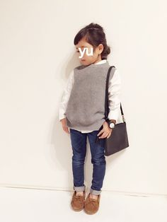 I realize this is a little girls outfit but I want the adult version! Little Kid Fashion, Little Girl Outfits, Baby Girl Fashion, Toddler Fashion, Kids Outfits, Kids Fashion, Fashion Clothes, Little Fashionista, Fashion Moda