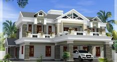 Luxury House Plans Box Type Luxury Home Design Kerala Home Beautiful Home Designing, Gallery Luxury House Plans Box Type Luxury Home Design Kerala Home Beautiful Home Designing with total of image about 3033 at Home Design Ideas Kerala House Design, Unique House Design, Contemporary House Plans, Modern House Plans, Luxury House Plans, Dream House Plans, Kerala Houses, Indian Homes, Design Furniture