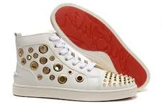 Image result for louboutin sneakers white