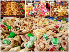 Sweet and Salty Munch, Christmas Reindeer Crack, White Chocolate Trash....whatever you call it, it tastes good in the tummy!