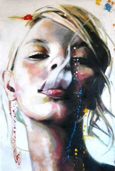 "Saatchi Art Artist Thomas Saliot; Painting, ""Smoke"" #art"