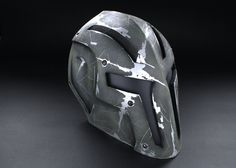 ColdBloodArt 8 Airsoft Paintball Mask Pitbull by ColdBloodArt