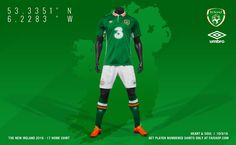 Ireland Euro 2016 Kits Revealed - Footy Headlines