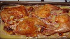 Božské kura na šunke: Po tomto jedle si bude celá vaša rodina olizovať prsty! Ham, Food And Drink, Pork, Low Carb, Chicken, Recipes, Red Peppers, Kochen, Pork Roulade