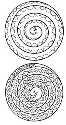 Image to print. (Adam and Eve?) // Image of spiral snakes to print and colour. (Adam and Eve? Bible Crafts, Crafts To Do, Crafts For Kids, Arts And Crafts, Paper Crafts, Diy Crafts, Snake Coloring Pages, Colouring Pages, Coloring Pages For Kids