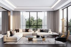 Today we're sharing bird's-eye views of 6 contemporary living rooms to inspire you to create the perfect living room for your own home. Keep scrolling and get inspired… Interior Modern, Interior Architecture, Living Room Designs, Living Spaces, Living Rooms, Living Room Decor Inspiration, Design Case, Living Room Interior, Sofa Design