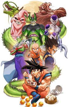 Dragon Ball by MiaCabrera.deviantart.com on @DeviantArt