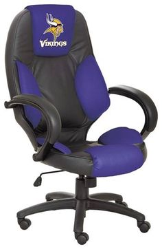 Minnesota Vikings Executive Chair ~cool chair no website to purchase it! Must be a Packer fan trying to sell it.....LOL
