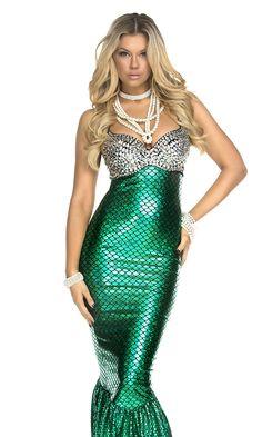 Mermaid Costume for women #sexycostume #mermaid #womenoutfits
