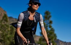 b97a4241b Women s Cycling Jersey Dolores Navy